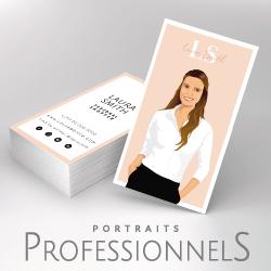 portraits professionnels - avatar profil réseaux sociaux et cartes de visite originales d'après vos photos - studio postscriptum