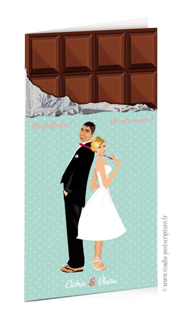 faire part de mariage original romantique vintage chic. Black Bedroom Furniture Sets. Home Design Ideas