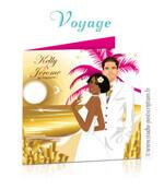 Faire-part de mariage original vacances île plage dessin d'après vos photos : faire-part originaux affiche voyage noces