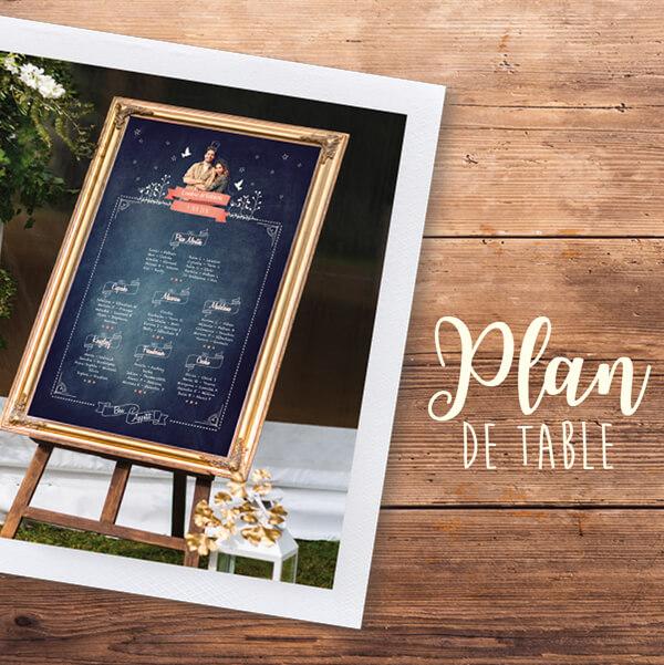 Plan Table Ardoise Mariage